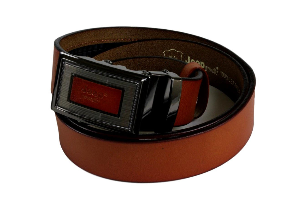 Jeep Pvoir Dress Belt - BBP007JP09-BROWN