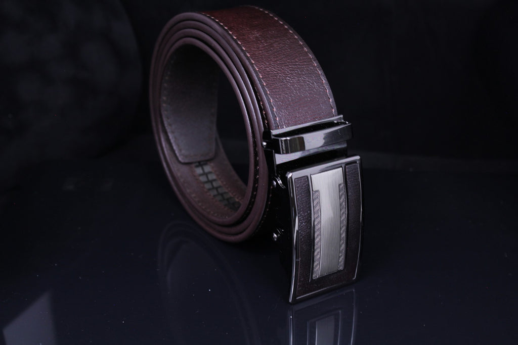 Jeep Pvoir Dress Belt - BBP007JP01-COFFEE