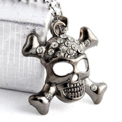 Men's Stainless Steel cross Chain dangle Pendant Necklace