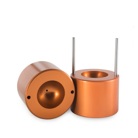 A copper Ice Sphere Press