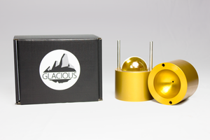Glacious LE Ice Ball Press Full Package + Ice Tray