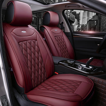 PU Leather Faux Leather Car Seat Cover Universal Fit for Most SUV