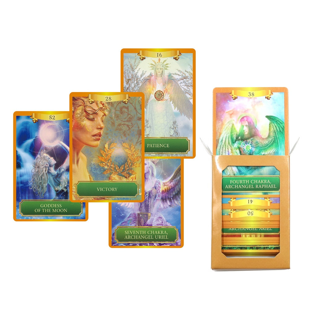 2019 energy oracle cards deck 53 cards, tarot cards guidance divination  fortune English board game card games|Board Games| - AliExpress