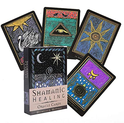 Amazon.com : Tarot Cards, Shamanic Healing Oracle Cards Tarot, English  Vesion, Divination Fate Deck Board Games for Family Party Supplies, for  Kids Adult : Sports & Outdoors