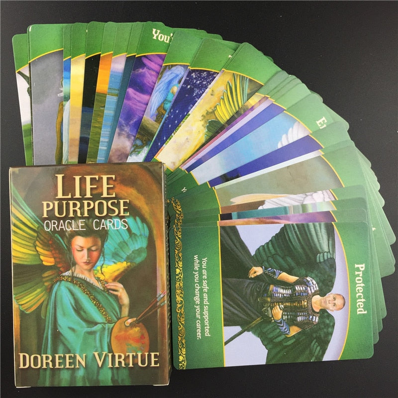 Tarot Cards Life Purpose Oracle Card Full English Party Deck Game Supplies Life  Purpose Oracle Cards With Guidebook|Card Games| - AliExpress
