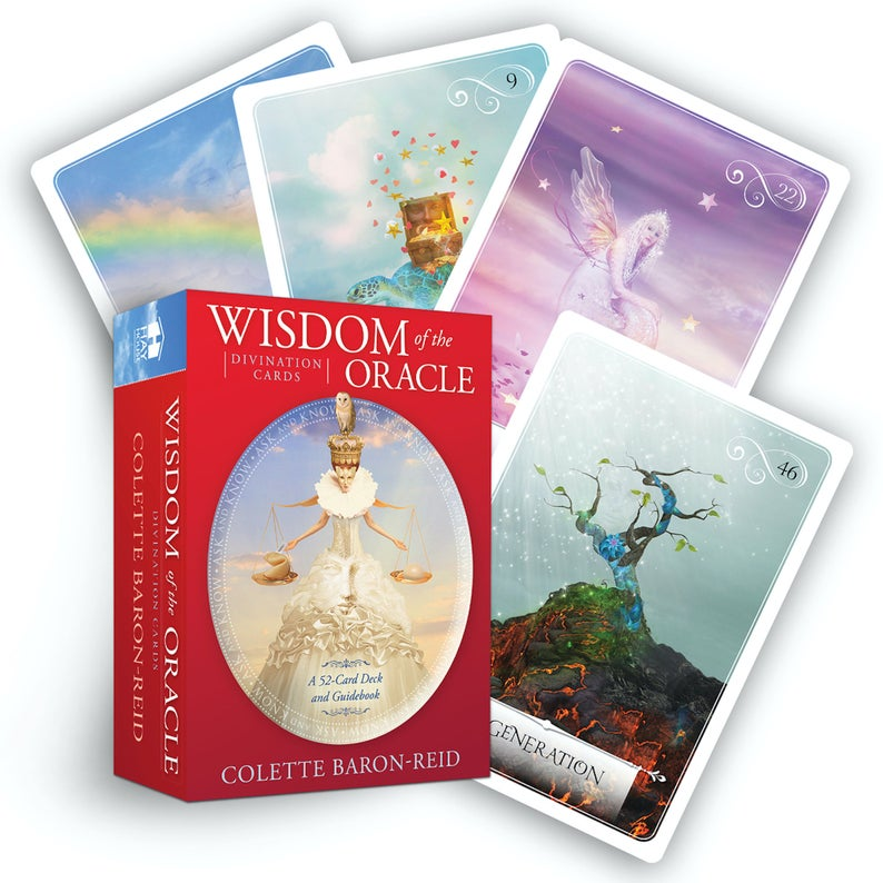 Wisdom of the Oracle Divination Cards and Guidebook  image 0