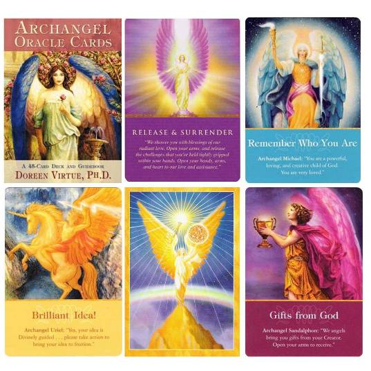 Review Now! Archangel Oracle Cards by Doreen Virtue | Review Now!