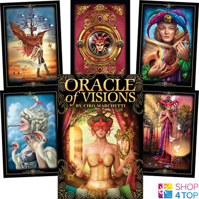 ORACLE OF VISIONS CARDS DECK CIRO MARCHETTI ESOTERIC ASTROLOGY US GAMES  SYSTEMS | eBay
