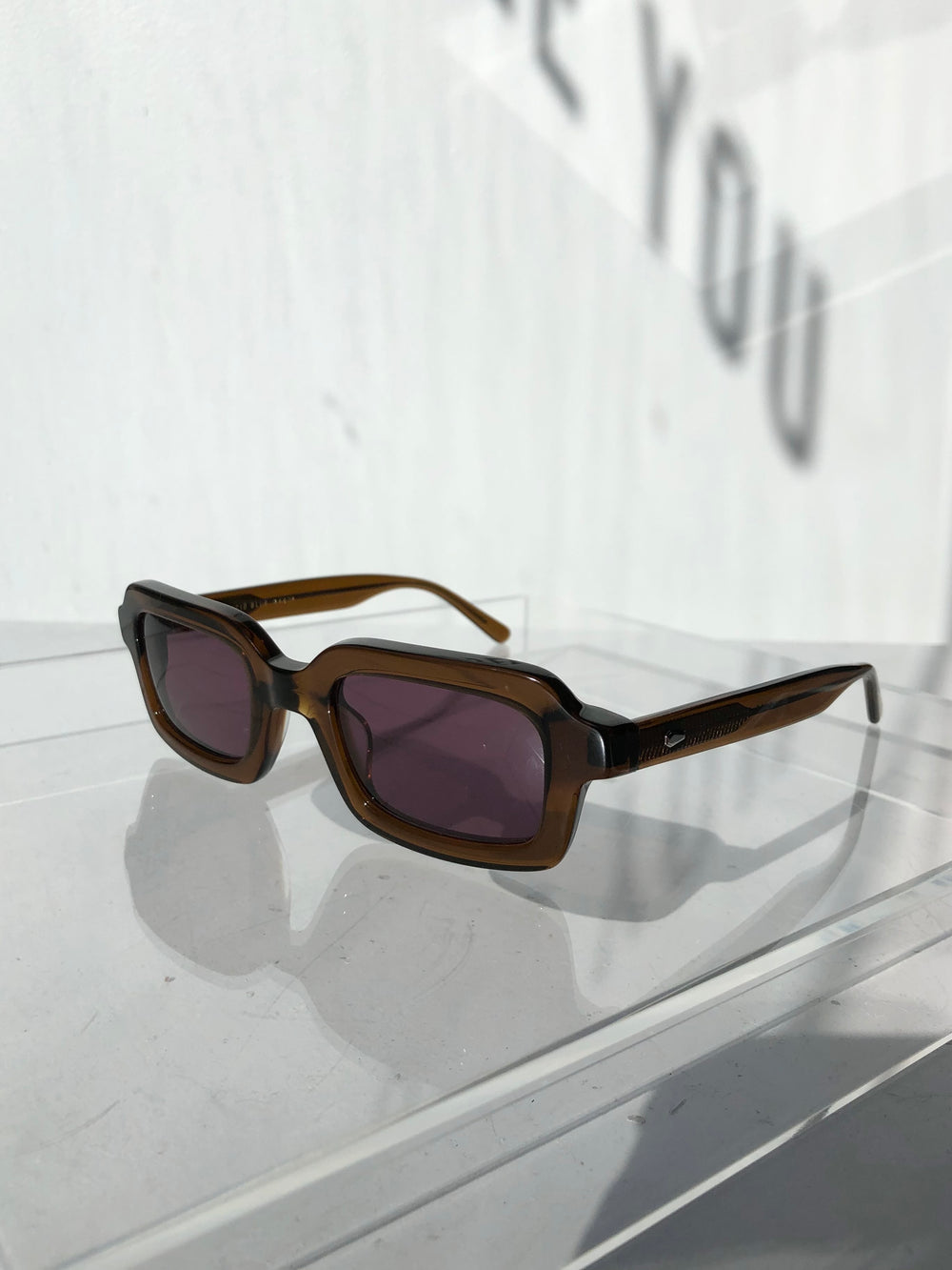 Crap Eyewear - The Lucid Blur - Crystal Hemp & Plum