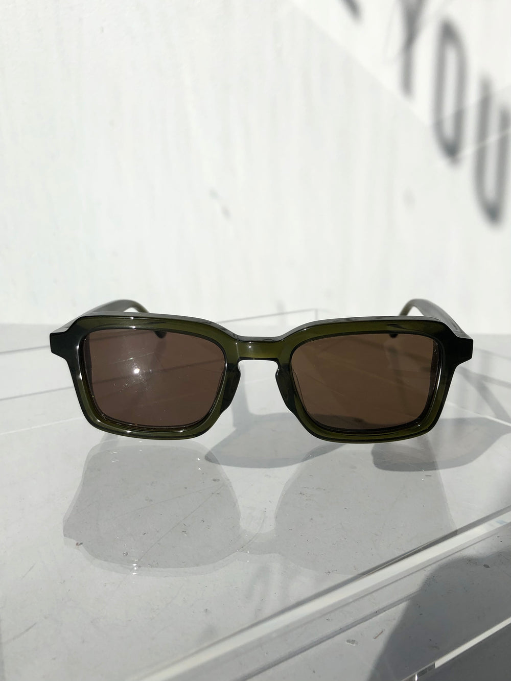 Crap Eyewear - The Heavy Tropix - Crystal Olive & Polarized Bronze