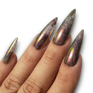 Crackle Chrome