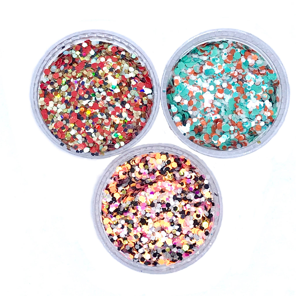 ENDLESS SUMMER Glitter Trio
