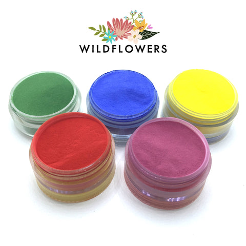 Silk Acrylic Powder - Royal Colors