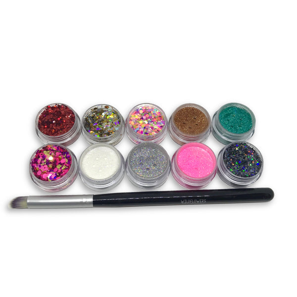 Wildflowers Glitter Kit
