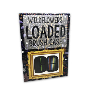 Loaded 3-Pocket Brush Case