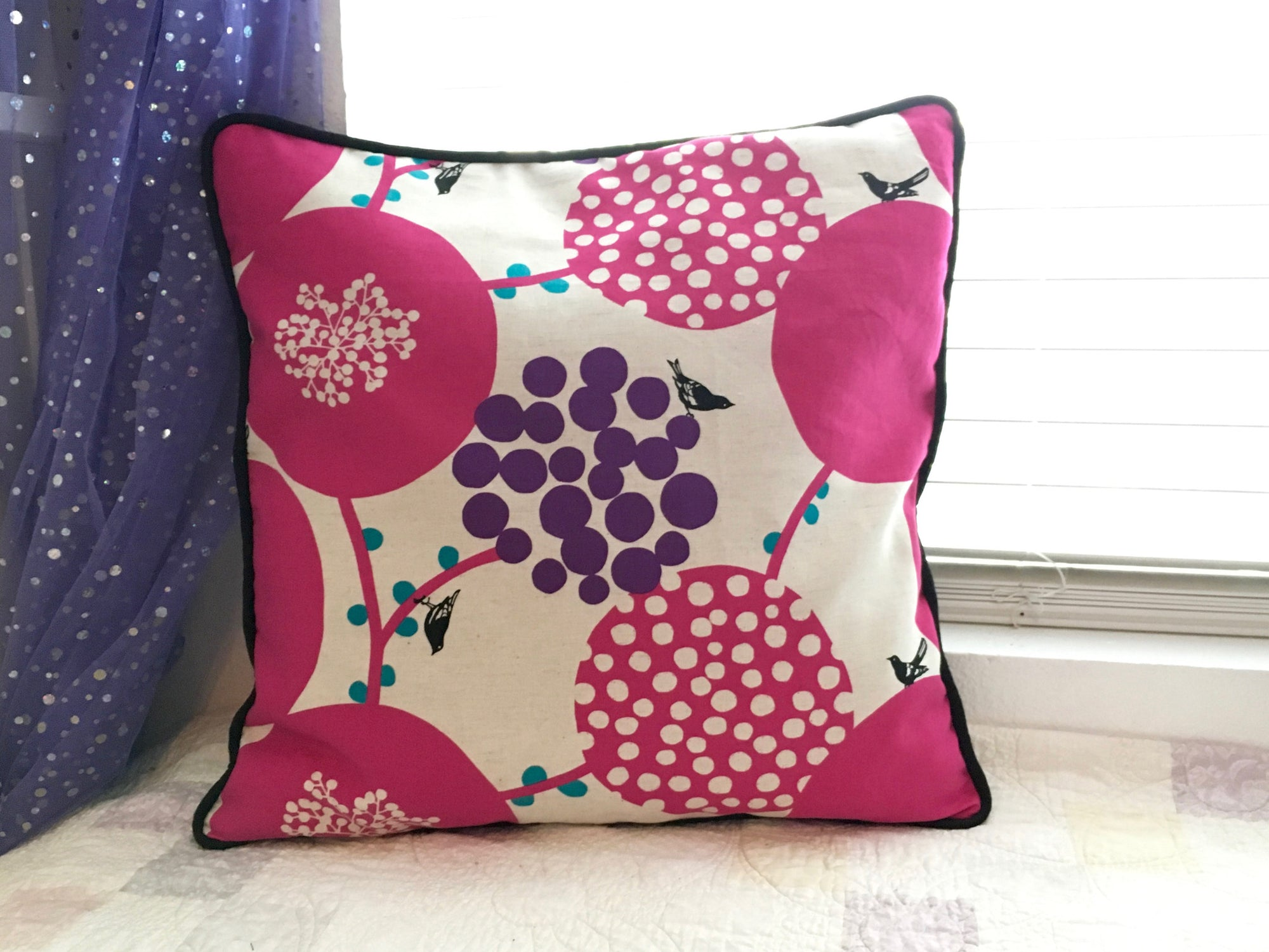 Sew Home - Corded Throw Pillow & a Giveaway!