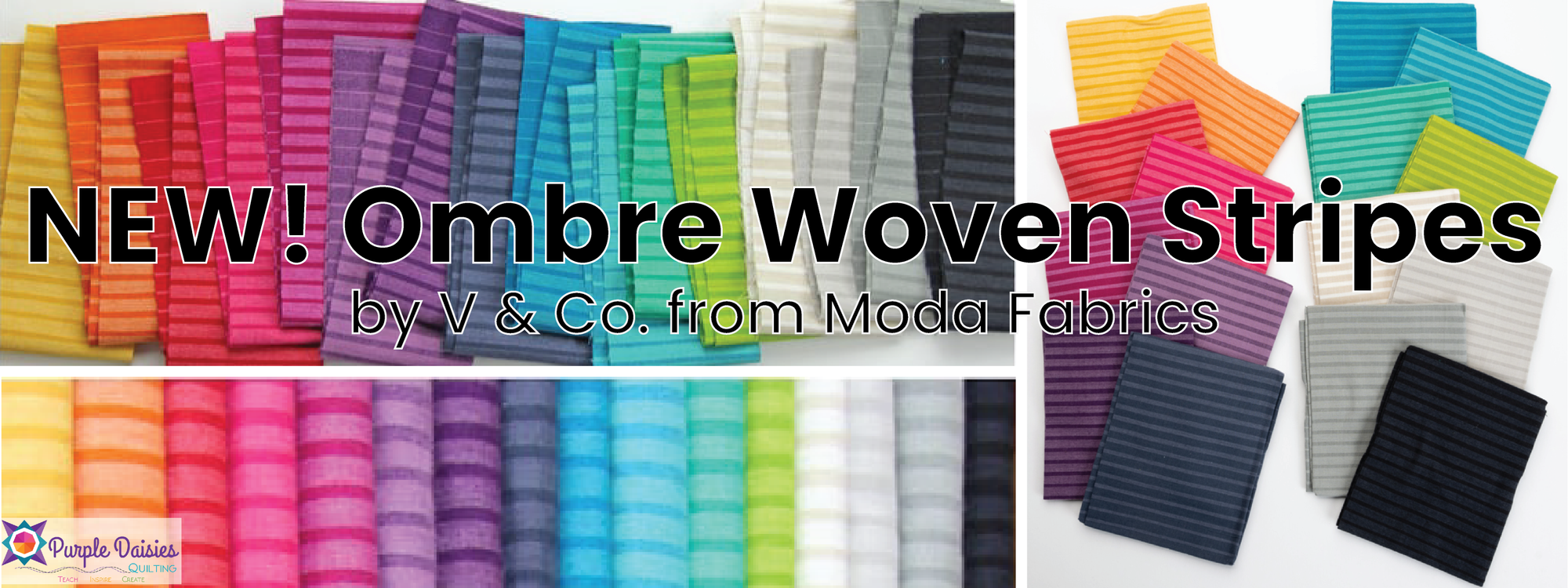 Order Ombre Woven Stripes by V and Co.