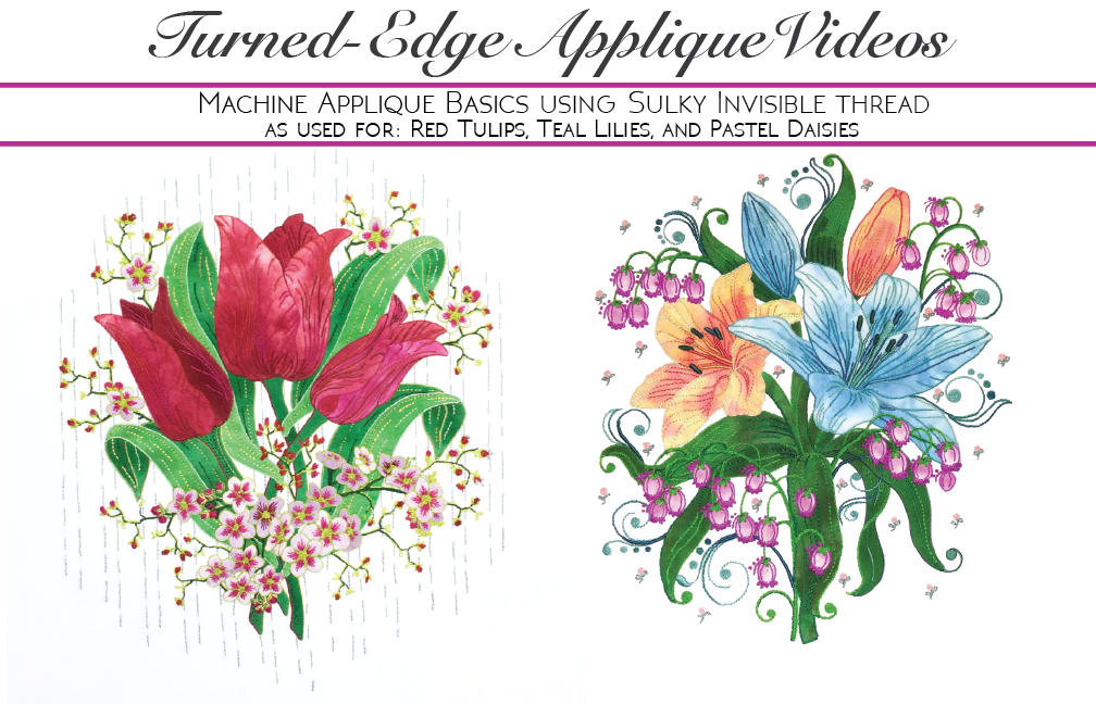 Turned-edge applique video series