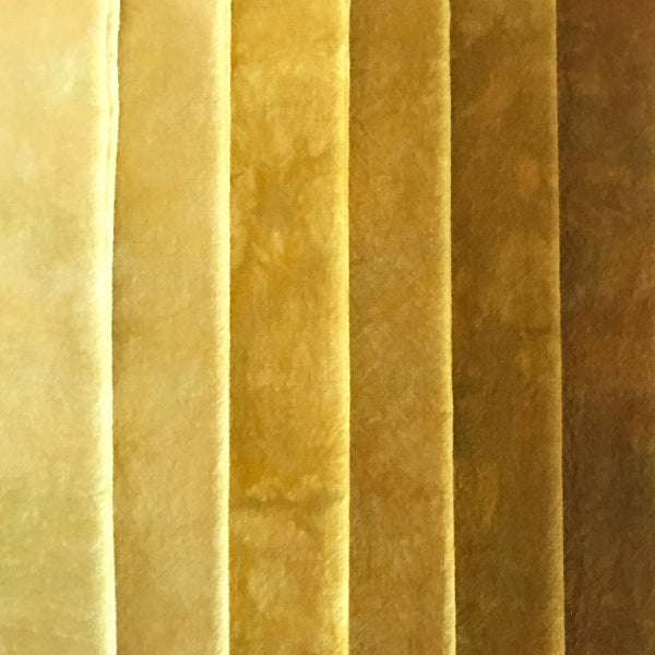 Gold - Solid Hand Dyed Fabric