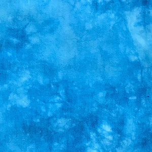 Electric Blue - Textured Hand Dyed Fabric Bundle