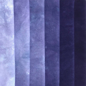 Nightshade - Solid Hand Dyed Fabric Bundle