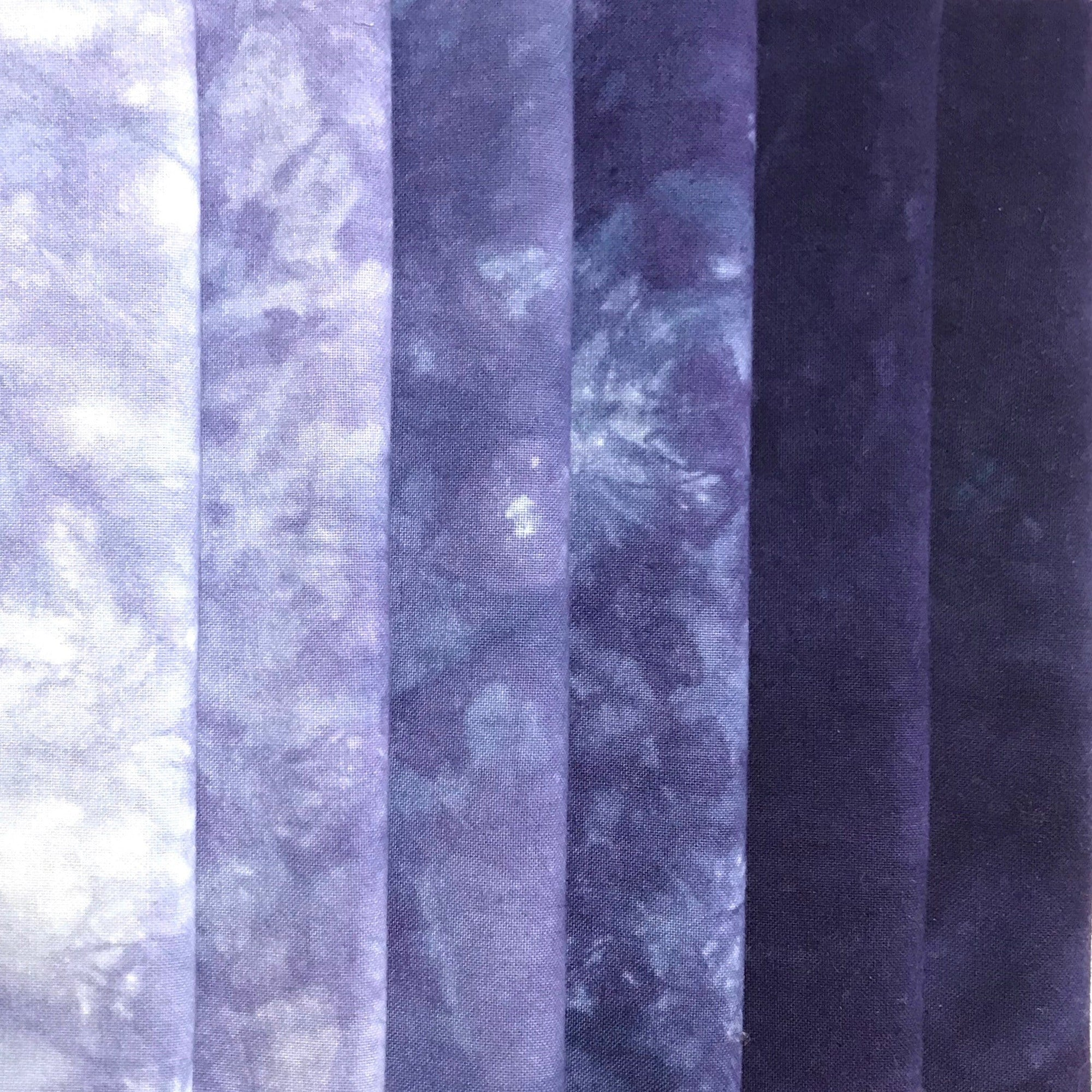 Nightshade - Textured Hand Dyed Precuts