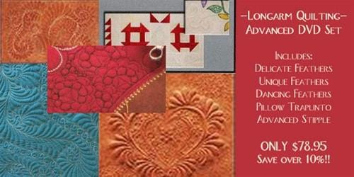 Advanced Longarm Free Motion Quilting Set