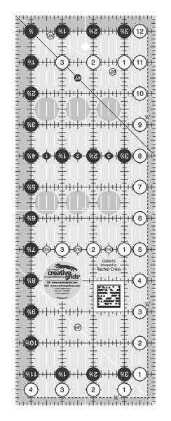Creative Grids Quilting Ruler 4 1/2in x 12 1/2in