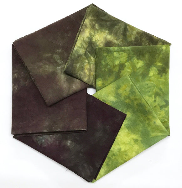 Forest Floor - Hand Dyed Fabric