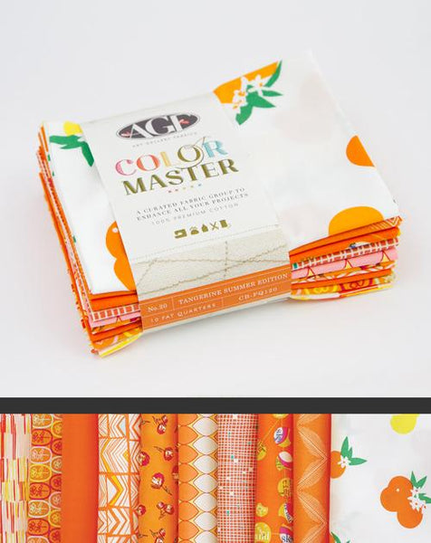 Tangerine Summer - FQ Set