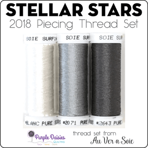 Stellar Stars - 2018 Piecing Thread Set