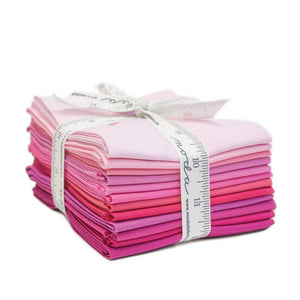 Pink - Bella Solids Fat Quarter Bundle