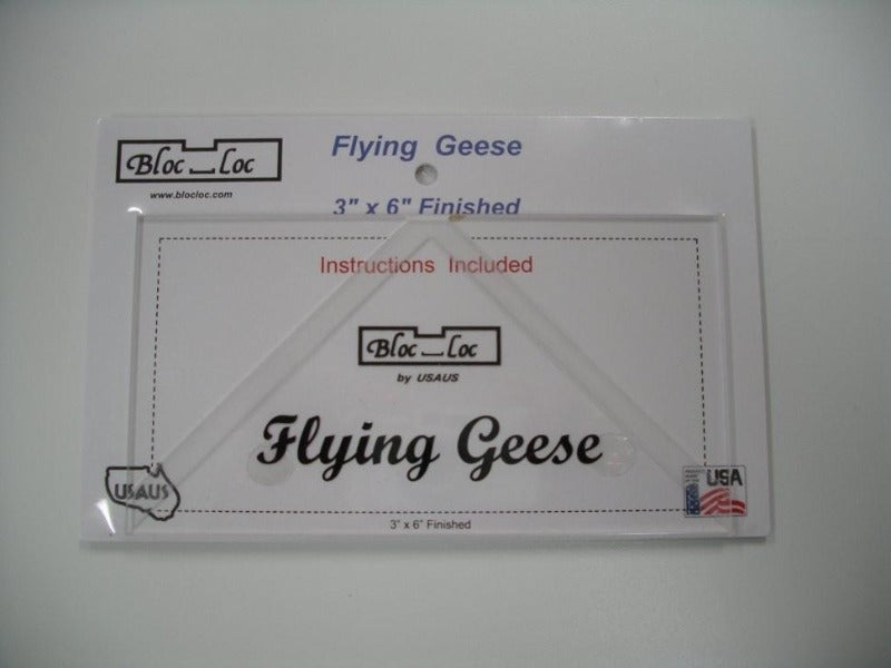 "Bloc_loc Flying Geeze Ruler 2""x4"""