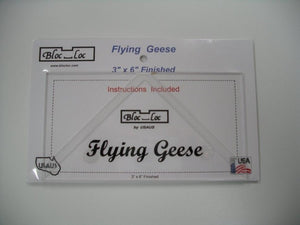Bloc_Loc Flying Geese Square Up Ruler Set