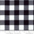 Moda Buffalo Check - Black/White
