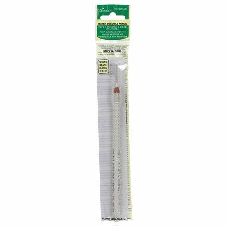 Clover Water Soluble Pencil - White