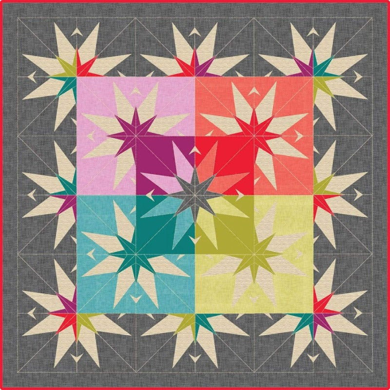 Country Star Barn Quilt Pattern