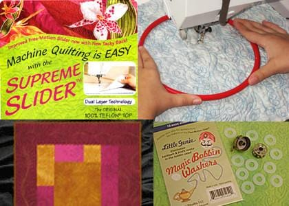 Beginning Domestic Free Motion Quilting Set