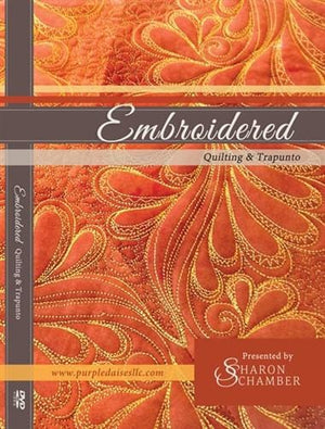 Quilting with Your Embroidery Machine DVD