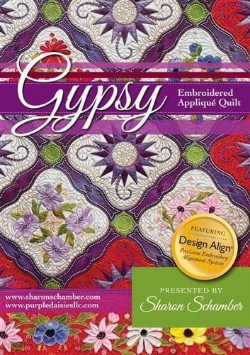 Gypsy Embroidered Applique
