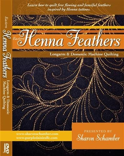 Eastern Henna Feathers
