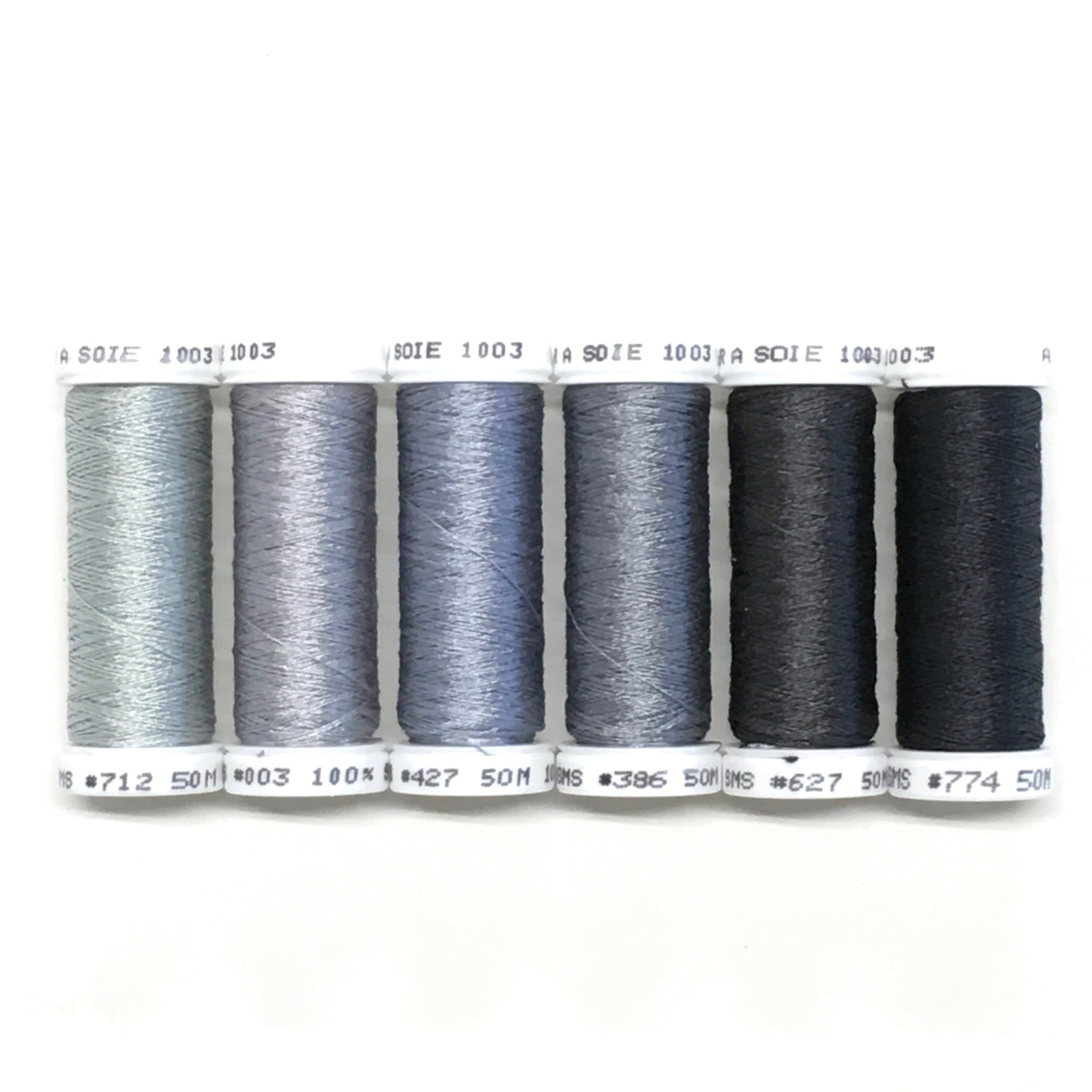 Grey Spectrum - Soie 100/3 Thread Collection