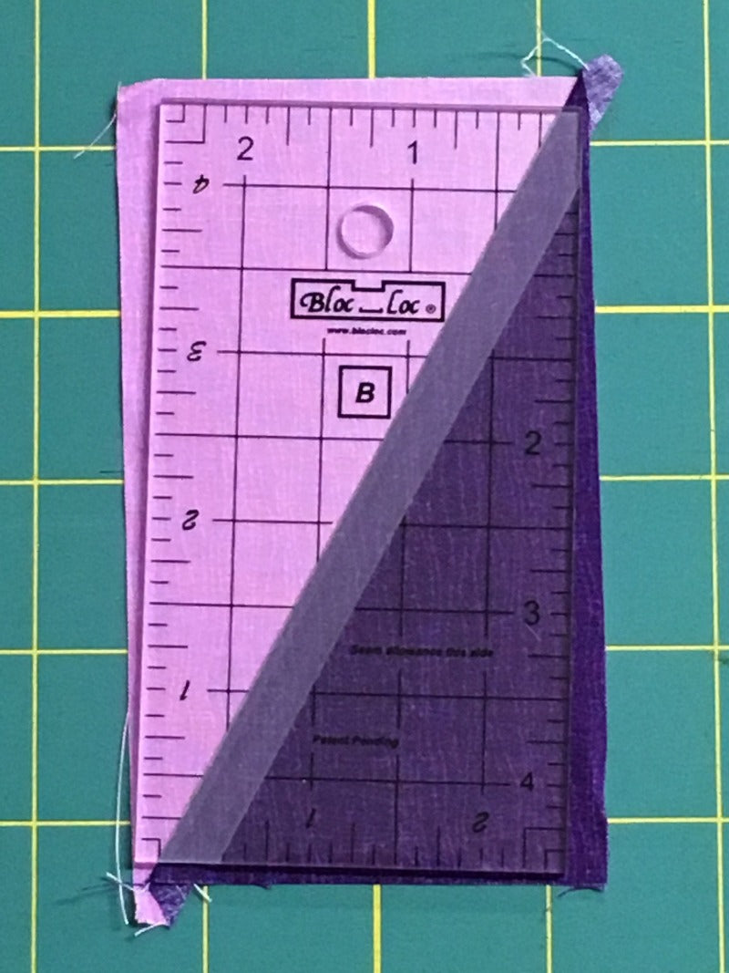 "Bloc_Loc 2.5""x4.5"" Half Rectangle Triangle Rulers"