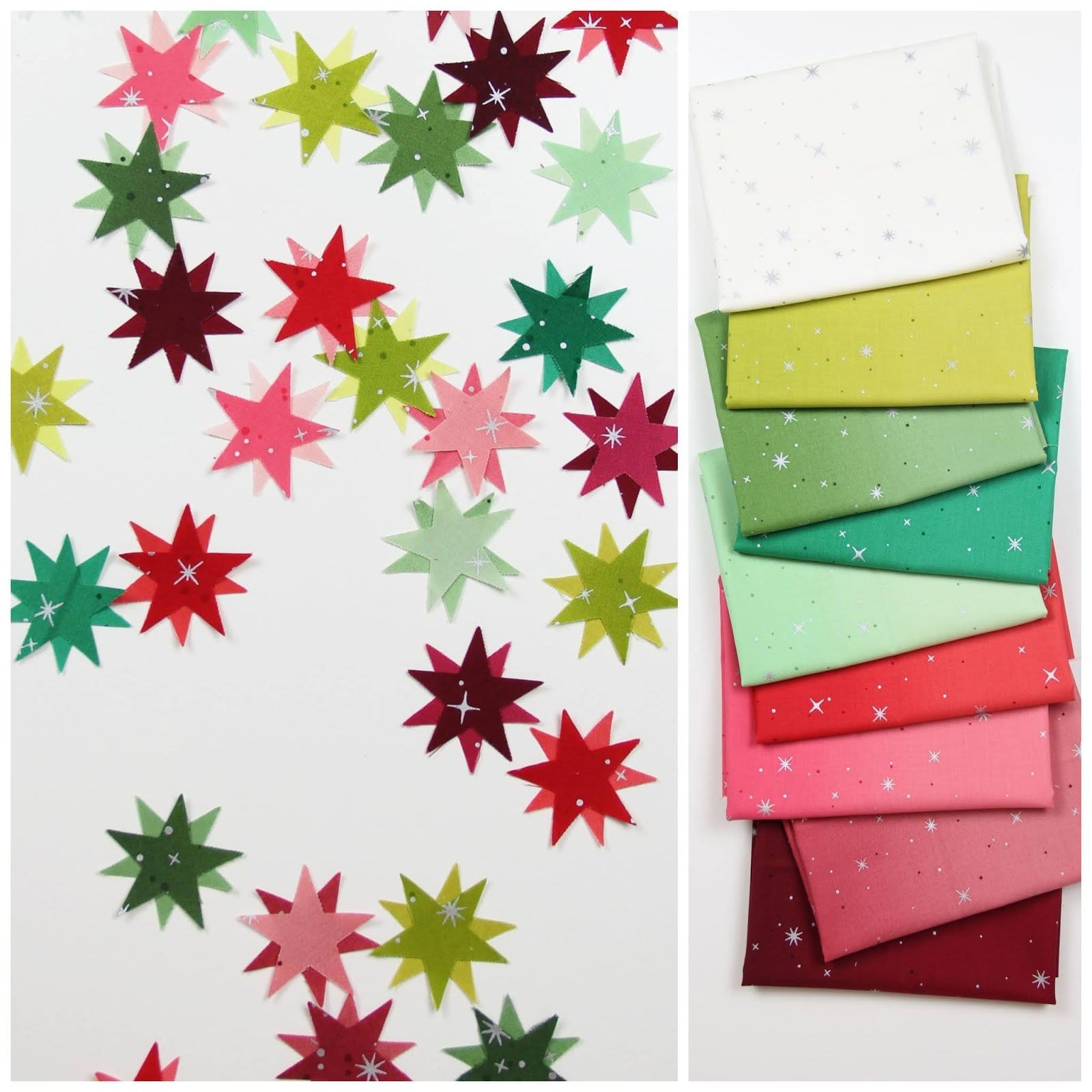 Holiday Fairy Dust - Fat Quarter Bundle