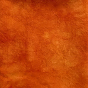 Orange Crush - Solid Hand Dyed Fabric Bundle