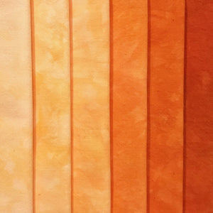 Orange Crush - Textured Hand Dyed Precuts