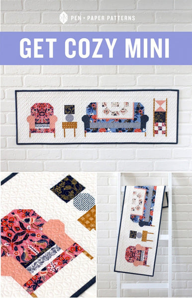 Get Cozy - Mini Quilt Pattern