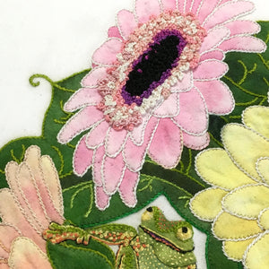 Pastel Daisies - Leaf Thread Collection