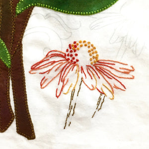 Pink Coneflower - Leaf Thread Collection