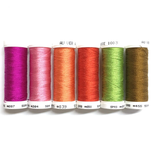 Pink Coneflower - Soie 100/3 Thread Collection